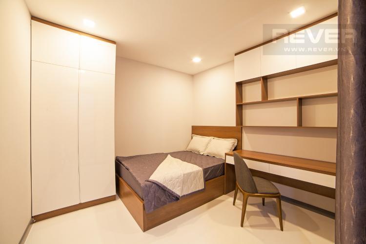 Phòng ngủ 2 Căn hộ The Gold View 2 phòng ngủ tầng trung A1 hướng Tây Nam
