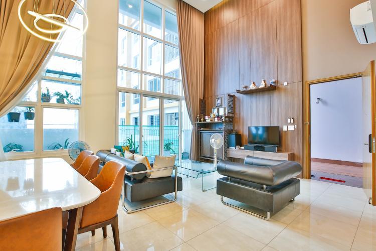 Bán duplex 4 phòng ngủ The Krista Quận 2, diện tích sàn 159m2, đầy đủ nội thất