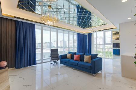Cho thuê căn hộ Sarina Condominium 3PN, tầng thấp, đầy đủ nội thất, hướng Đông Nam đón gió