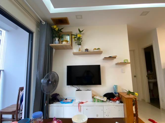 Phòng khách căn hộ M-One Nam Sài Gòn Căn hộ M-One Nam Sài Gòn hướng Đông Bắc, view nội khu yên tĩnh.