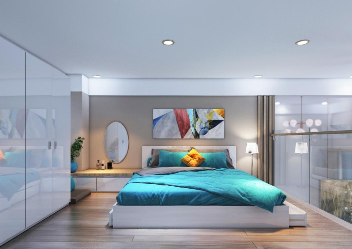 b12eeb286341851fdc50 Bán căn hộ 9X Bình Tân 1PN, tầng 2, diện tích 33m2m, đầy đủ nội thất, hướng cửa Đông Nam