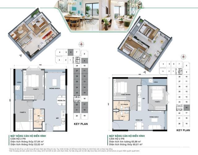 Căn hộ Picity High Park tầng thấp, nội thất cơ bản.