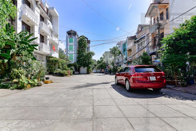 Lộ Giới Nhà phố 4 phòng ngủ đường Quốc Hương Thảo Điền Quận 2