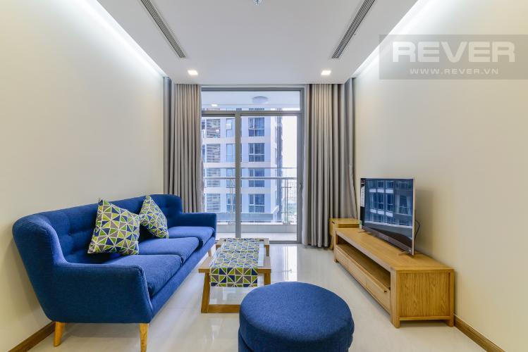 Phòng Khách Căn hộ Vinhomes Central Park 2 phòng ngủ tầng trung Park 3