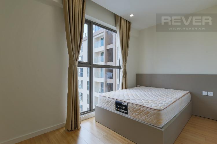 Phòng Ngủ 2 Cho thuê căn hộ Masteri Millennium tầng cao, 2PN, đầy đủ nội thất, view sông