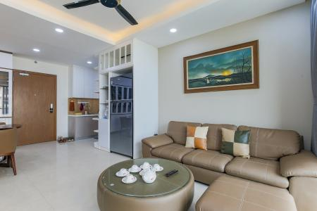 Căn hộ Masteri Millennium tầng cao, 3PN, đầy đủ nội thất, view kênh Bến Nghé