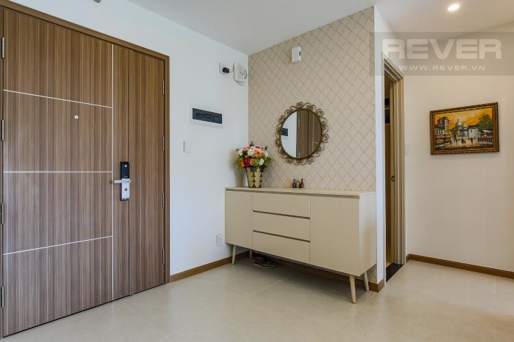 Cửa ra vào Căn hộ New City Thủ Thiêm 2 phòng ngủ tầng thấp BB hướng Tây Bắc