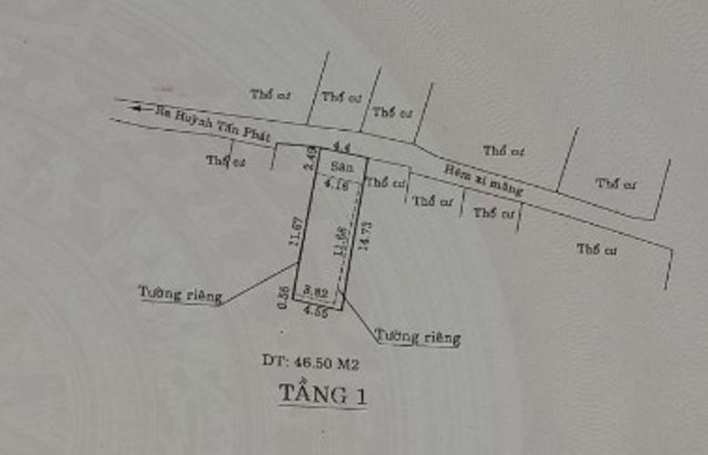 Nhà phố Quận 7 Nhà phố Quận 7 hướng Bắc hẻm xe máy 2m, khu vực an ninh.