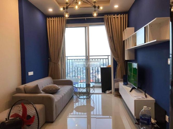 Phòng khách Richstar, Tân Phú Căn hộ tầng cao Richstar view sân bay, đầy đủ nội thất.