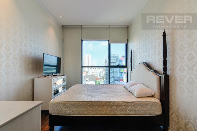 Phòng Ngủ 1 Bán hoặc cho thuê căn hộ The Ascent 2PN, đầy đủ nội thất, view Landmark 81