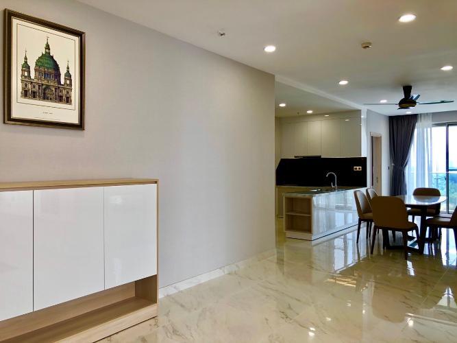 Nội thất căn hộ Phú Mỹ Hưng Midtown Cho thuê căn hộ Phú Mỹ Hưng Midtown tầng trung, ban công thoáng mát.