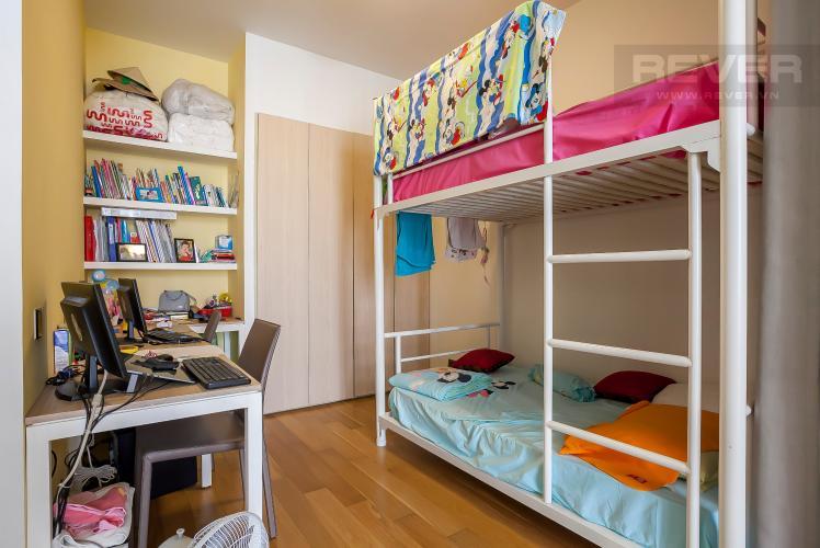 Phòng Ngủ 1 Căn hộ Estella Residence 3 phòng ngủ tầng thấp view hồ bơi