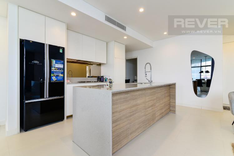 Nhà Bếp Bán hoặc cho thuê căn hộ City Garden 100m2 2PN 2WC, view nội khu, nội thất cao cấp