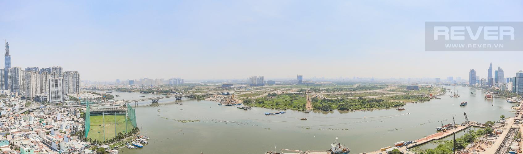 View Căn hộ Vinhomes Golden River 3 phòng ngủ tầng cao Aqua 4 view sông