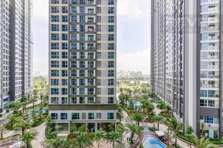 View Officetel Vinhomes Central Park tầng thấp Park 7 view nội khu