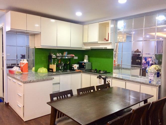 Phòng ăn chung cư Phúc Yên, Tân Bình Căn hộ chung cư Phúc Yên hướng Đông Nam, đầy đủ nội thất.