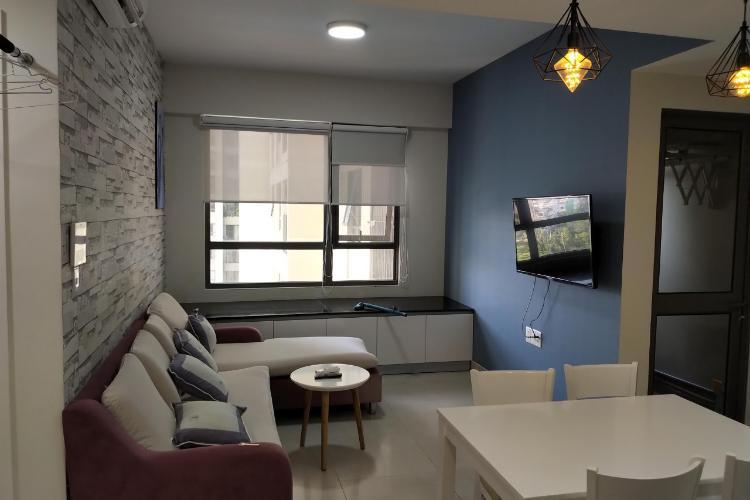 Phòng khách căn hộ Masteri Thảo Điền Căn hộ Masteri Thảo Điền tầng 12B, nội thất đầy đủ
