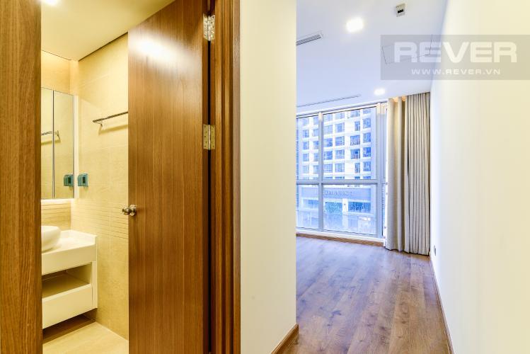 Phòng Ngủ 1 Căn hộ Vinhomes Central Park tầng thấp, tháp Park 5, 2 phòng ngủ, view nội khu