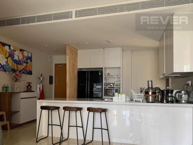 Nhà Bếp Cho thuê căn hộ Diamond Island - Đảo Kim Cương, tháp Maldives, đầy đủ nội thất, view sông và Landmark 81
