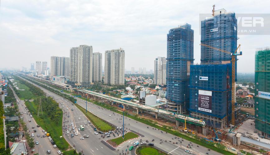 View Căn hộ Cantavil An Phú 3 phòng ngủ tầng cao D2 hướng Đông Bắc