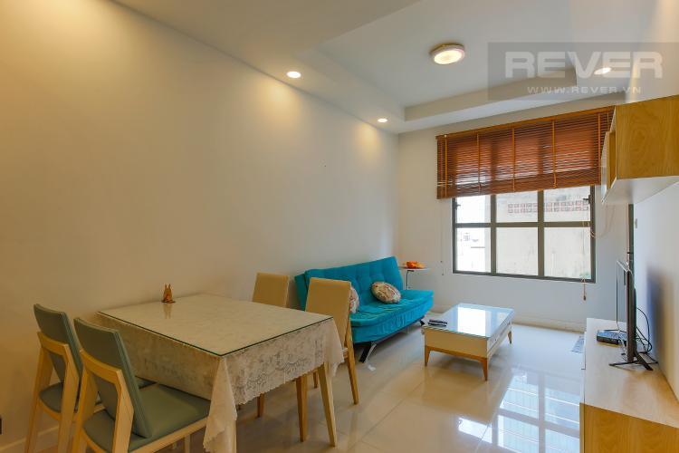 Phòng Khách Căn hộ ICON 56 tầng thấp 1 phòng ngủ đầy đủ nội thất