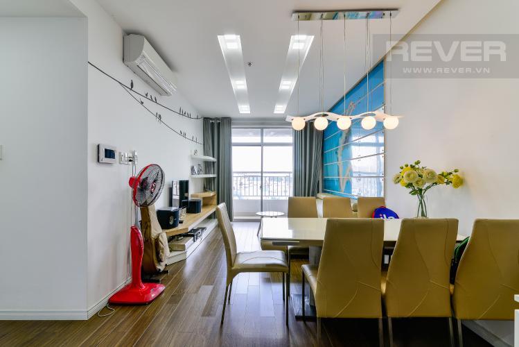 Phòng Khách Bán căn hộ The Prince Residence Phú Nhuận 2PN, nội thất đầy đủ