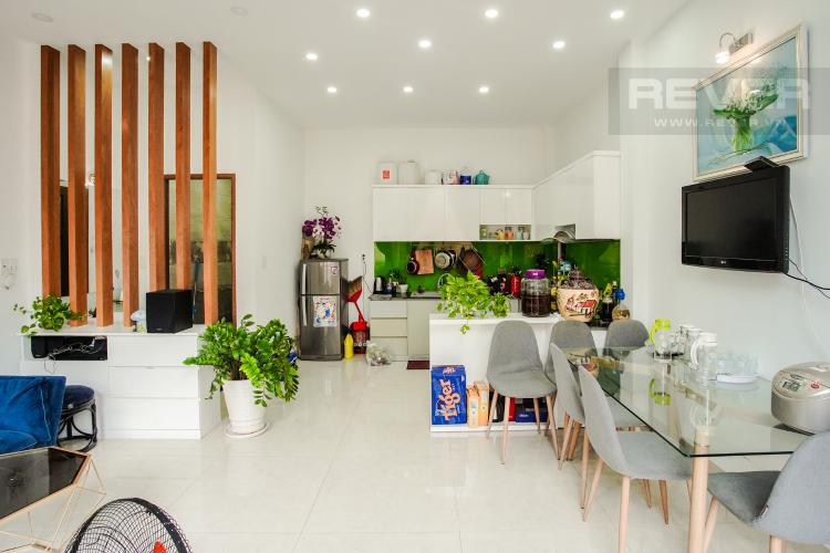 Phòng Ăn Cho thuê nhà phố 3 tầng đường Thạnh Mỹ Lợi, Q2, đầy đủ nội thất, sổ đỏ chính chủ