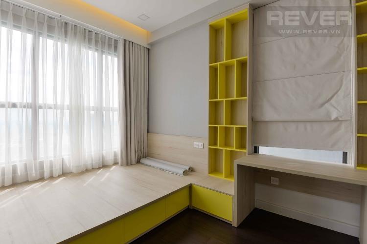 Phòng Ngủ 2 Cho thuê căn hộ The Sun Avenue 3PN, đầy đủ nội thất, view Landmark 81