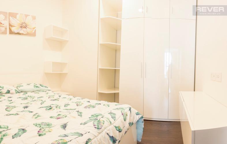 Phòng Ngủ Cho thuê căn hộ The Tresor 1PN, tầng cao, đầy đủ nội thất, view sông Bến Nghé