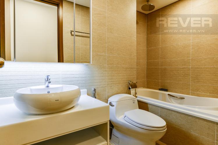 Phòng tắm 1 Căn hộ Vinhomes Central Park 3 phòng ngủ tầng trung P6 view sông