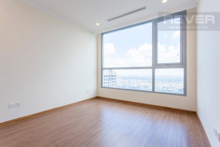 Phòng ngủ 3 Căn hộ Vinhomes Central Park tầng cao Landmark 3 mới bàn giao, nội thất cơ bản