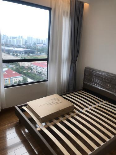 Phòng ngủ căn hộ Riviera Point Căn hộ Duplex Riviera Point tầng 20 bàn giao nội thất cơ bản, view thành phố.