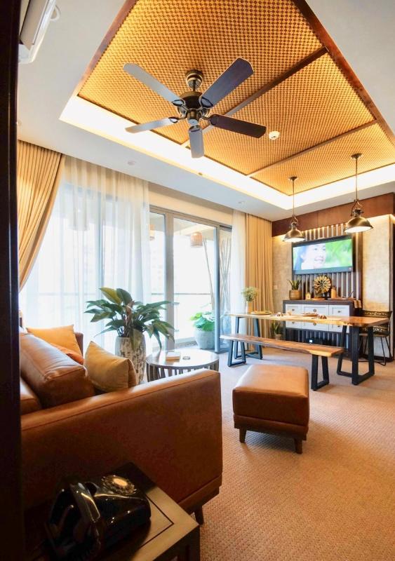 BA2205 (24) Bán căn hộ Diamond Island - Đảo Kim Cương 2PN, tháp Bahamas, đầy đủ nội thất sang trọng, view hồ bơi