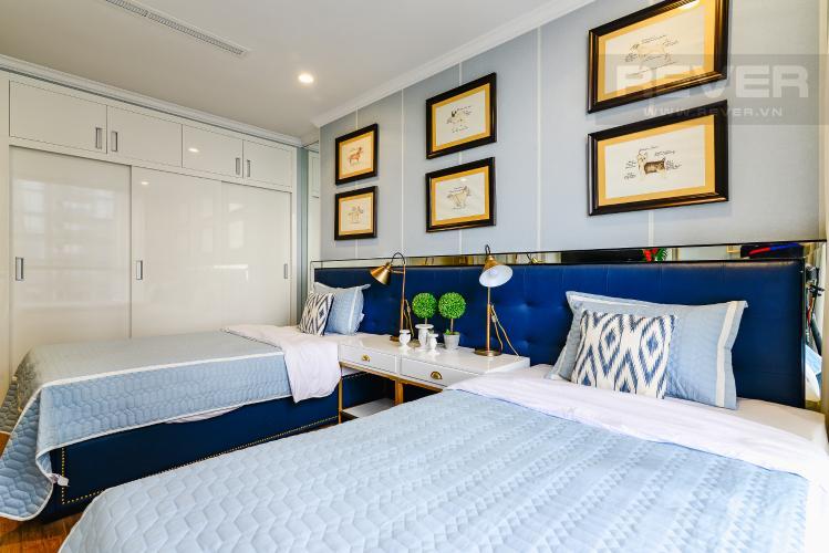 Phòng Ngủ 3 Căn hộ Vinhomes Central Park tầng trung 3PN đầy đủ nội thất, view sông