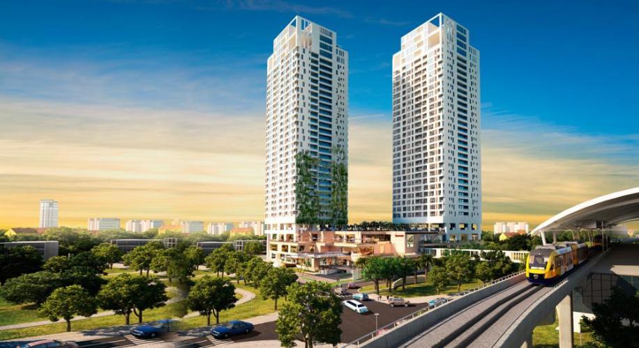 Gateway Thảo Điền, Quận 2 Căn hộ Gateway Thảo Điền tầng cao nội thất đầy đủ, view thoáng mát.
