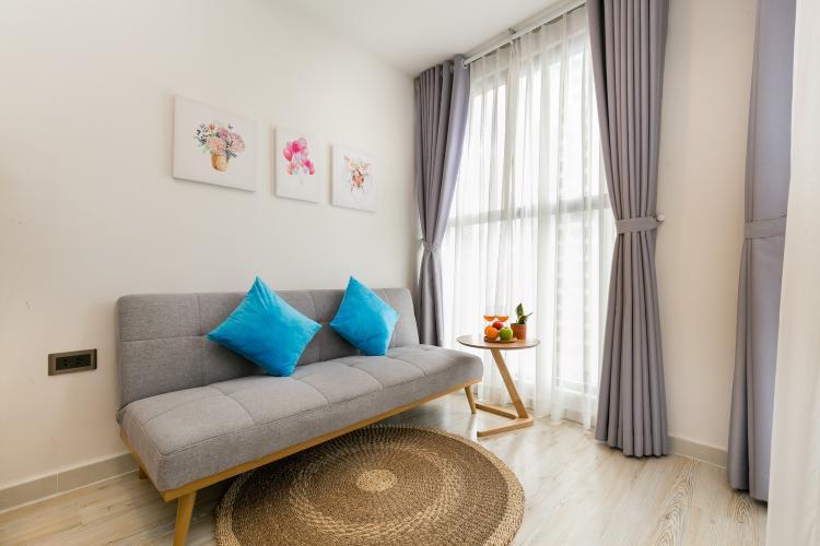 Nội thất căn hộ Saigon Royal , quận 4 Căn hộ Saigon Royal cửa hướng Tây Bắc, bàn giao đầy đủ nội thất hiện đại