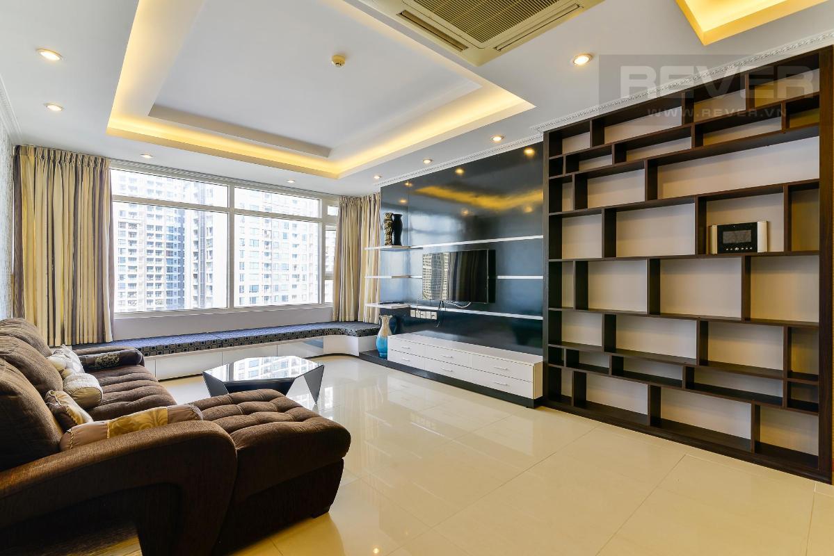 PK2 Bán hoặc cho thuê căn hộ Saigon Pearl 3PN, tháp Ruby 1, đầy đủ nội thất, view sông và nội khu