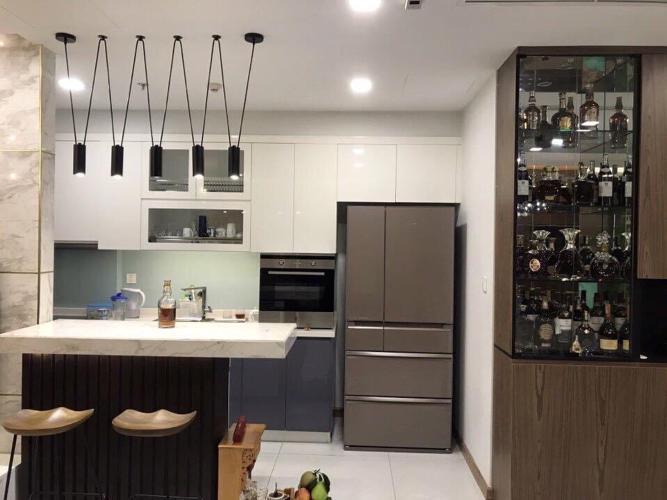 Phòng bếp Vinhomes Central Park Căn hộ Vinhomes Central Park nội thất đầy đủ, hướng Đông Bắc.