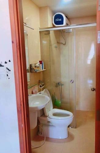 nhà tắm căn hộ CBD Premium Home Căn hộ The CBD Premium Home tầng trung, view thành phố.