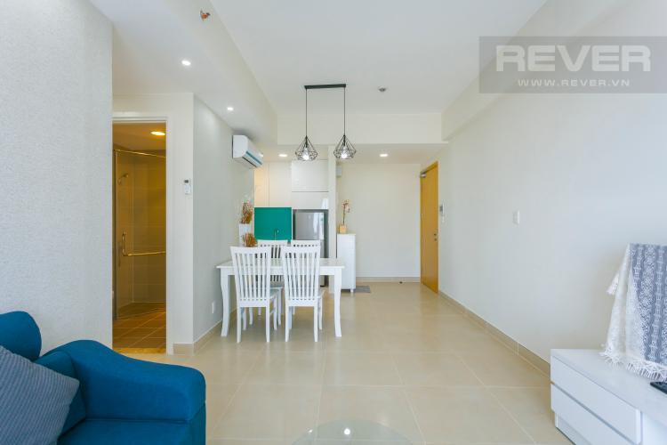 Không gian căn hộ Căn góc Masteri Thảo Điền tầng cao tháp T2 thoáng mát