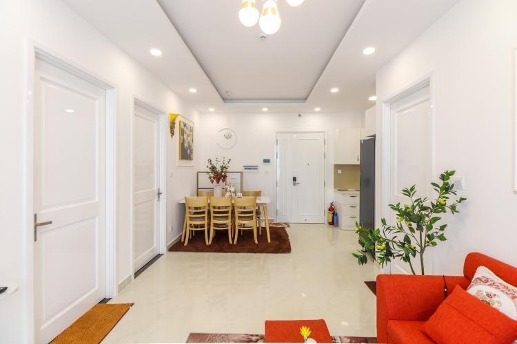 Cho thuê căn hộ Saigon Mia 3PN, diện tích 76m2, đầy đủ nội thất, view đường 9A khu Trung Sơn