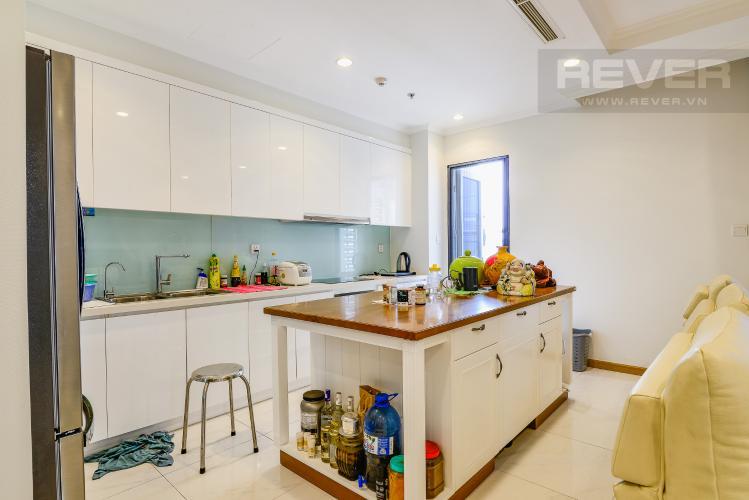 Nhà Bếp Căn hộ Vinhomes Central Park 4 phòng ngủ tầng trung C2 hướng Đông Nam