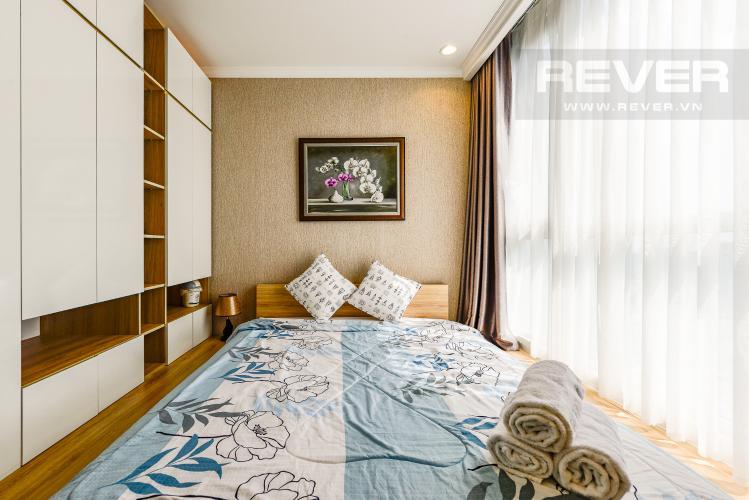 Phòng ngủ 1 Căn hộ Vinhomes Central Park 2 phòng ngủ tầng cao C3 hướng Tây