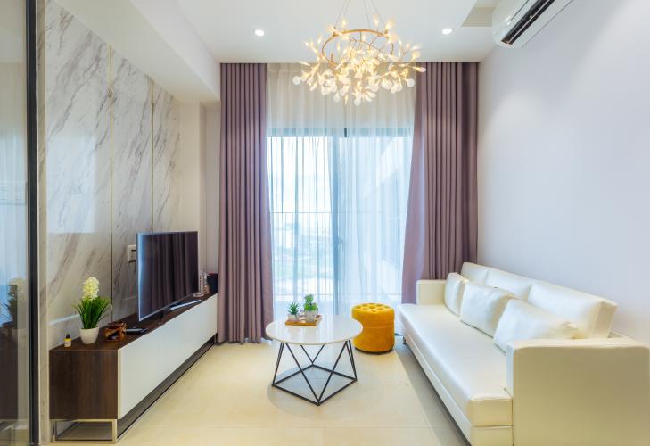 Phòng Khách Bán căn hộ Masteri Thảo Điền tầng cao, 2PN, đầy đủ nội thất, view đẹp