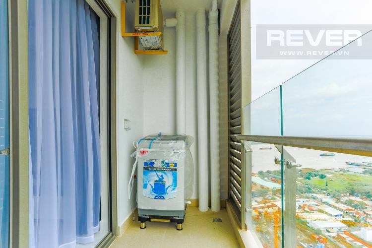 Ban Công Căn hộ An gia Skyline tầng cao, 2 phòng ngủ, full nội thất
