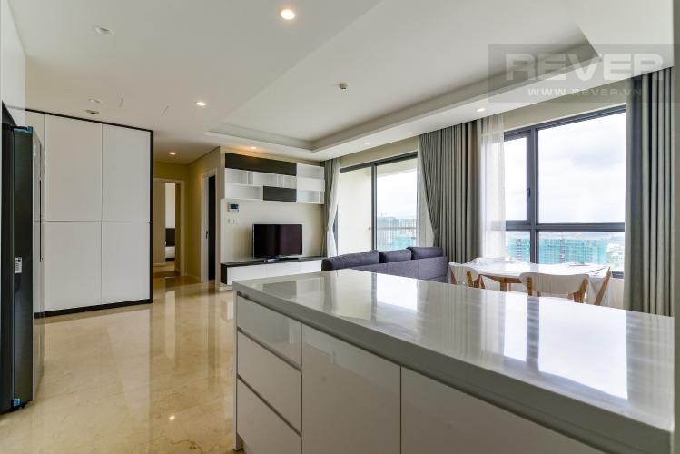 Bếp Cho thuê căn hộ Diamond Island - Đảo Kim Cương 2PN, tháp Maldives, đầy đủ nội thất, view sông thoáng mát