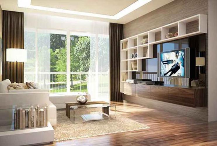 Nhà mẫu Celadon City, Tân Phú Căn hộ Celadon City tầng trung, 2 ban công rộng rãi đón view mát mẻ.
