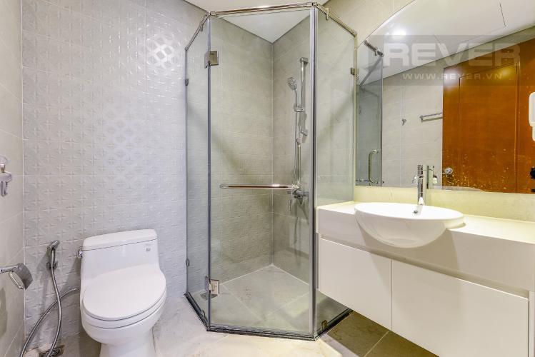 Phòng tắm 2 Căn hộ Vinhomes Central Park 3 phòng ngủ tầng trung L4 nội thất đầy đủ