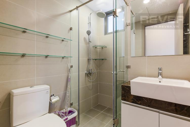 Phòng Tắm 1 Căn hộ The Gold View 2 phòng ngủ tầng cao tháp B nội thất hiện đại