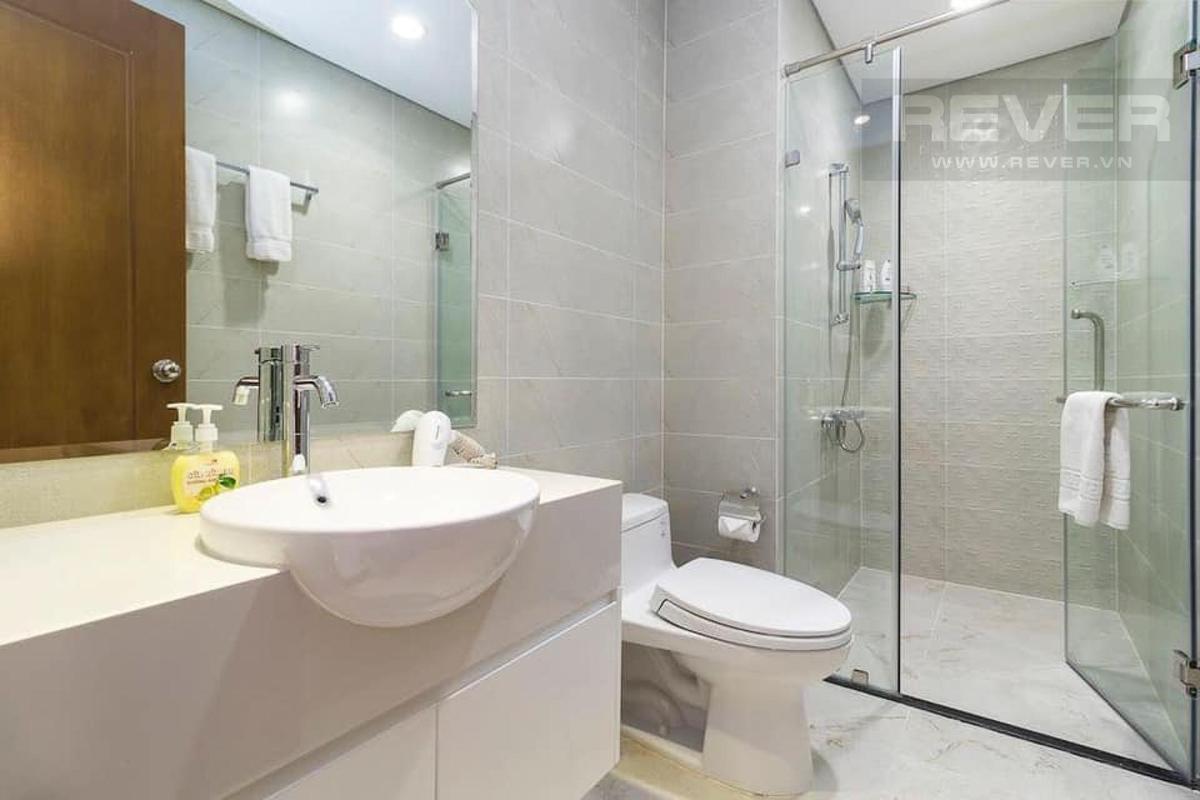 Phòng tắm Bán căn hộ 1 phòng ngủ Vinhomes Central Park, tháp Landmark 5, đầy đủ nội thất, ban công Đông Bắc thoáng mát